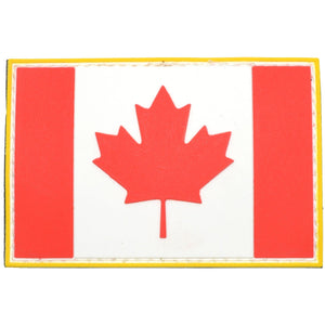 Canadian Flag Full Color - 2x3 PVC Patch