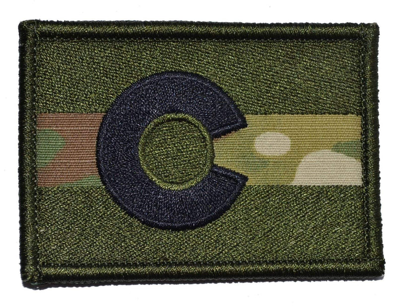 Tactical Gear Junkie Patches MultiCam Colorado State Flag - 2x3 Patch
