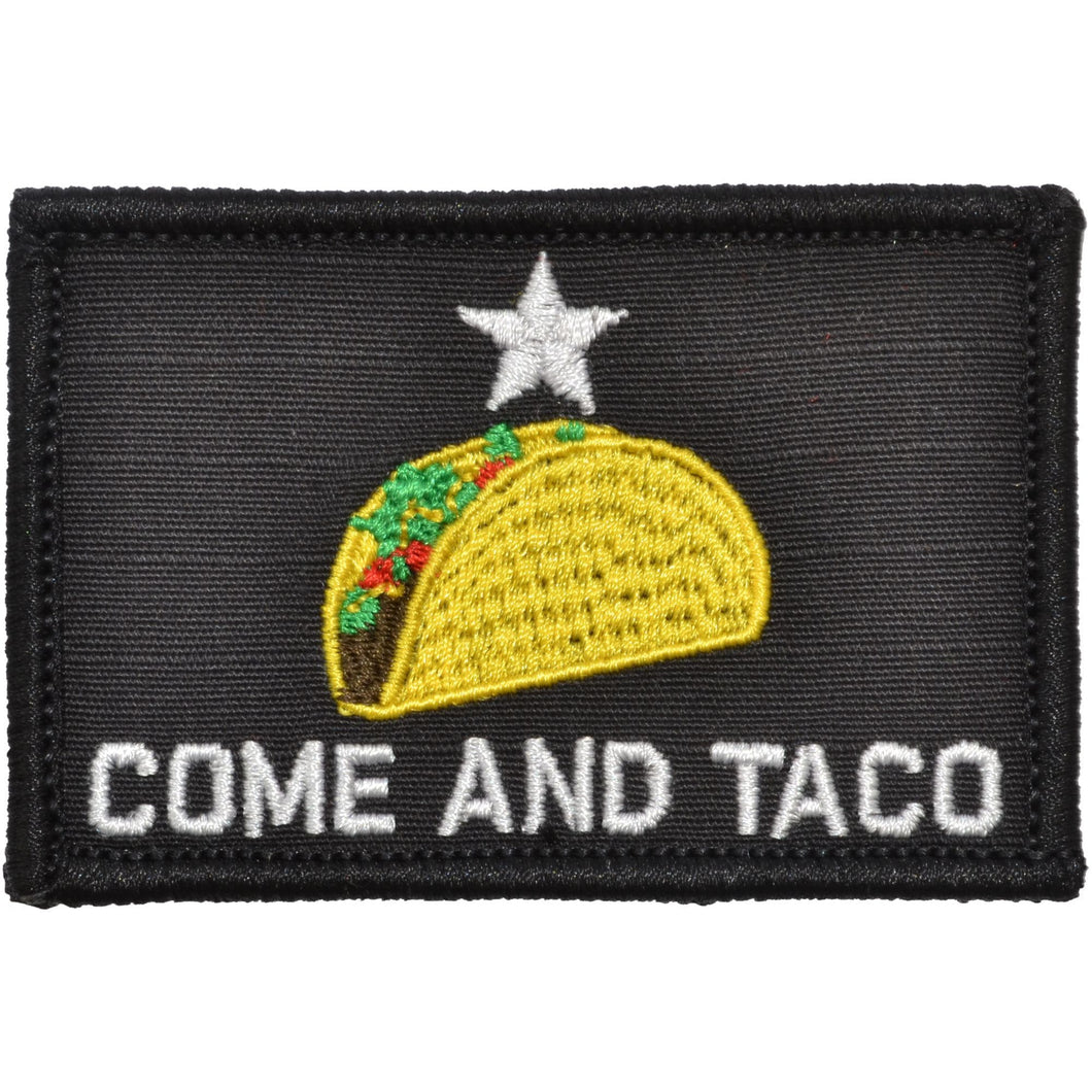 Come and Taco - 2x3 Patch