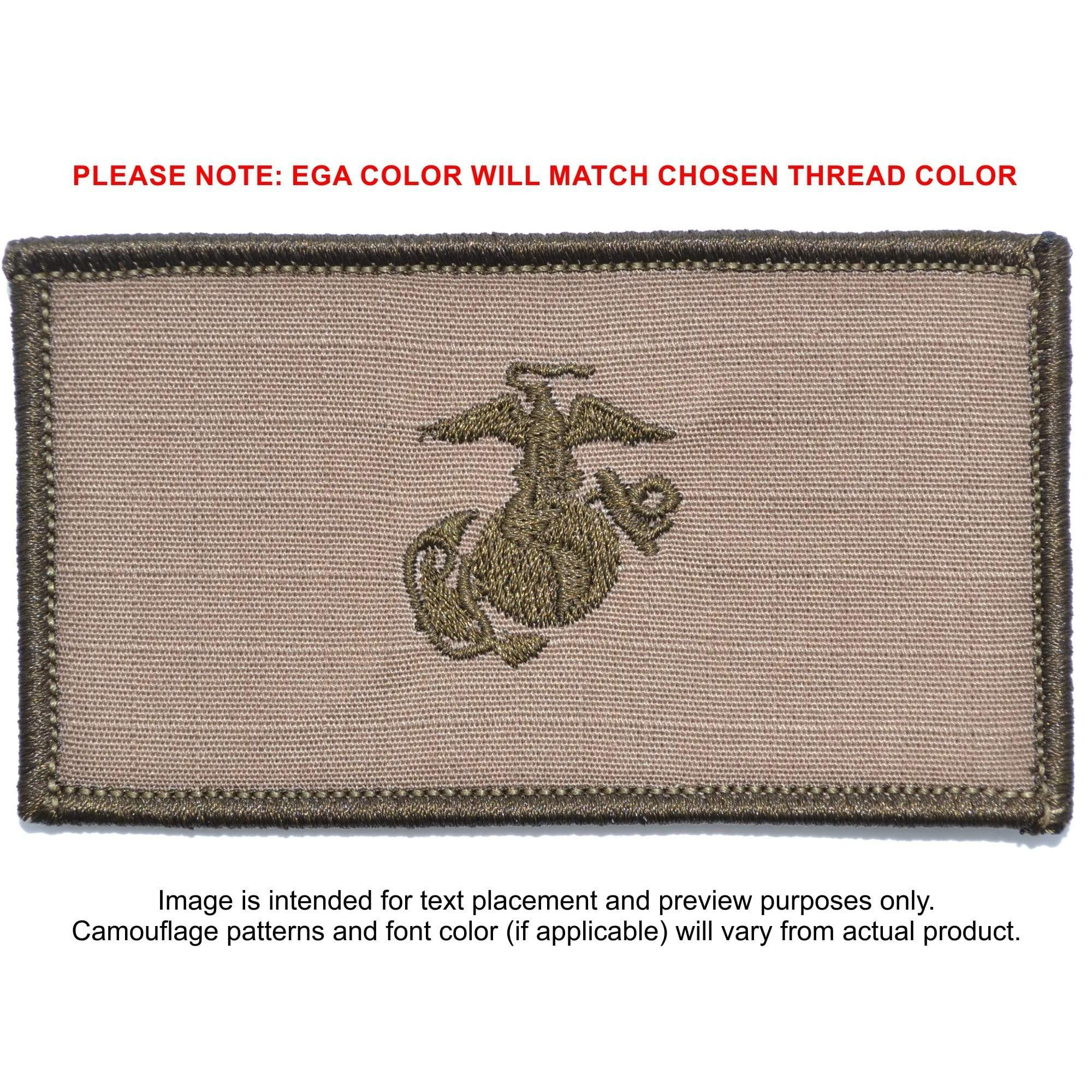 USMC Plate Carrier Flak Patch - Eagle Globe and Anchor
