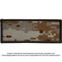 Custom Plate Carrier Text Patch - 4x10
