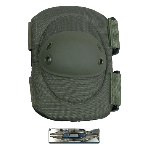 Damascus Worldwide, Inc. Tactical OD Green Damascus Worldwide, Inc. Imperial Hard Shell Cap Elbow Pads