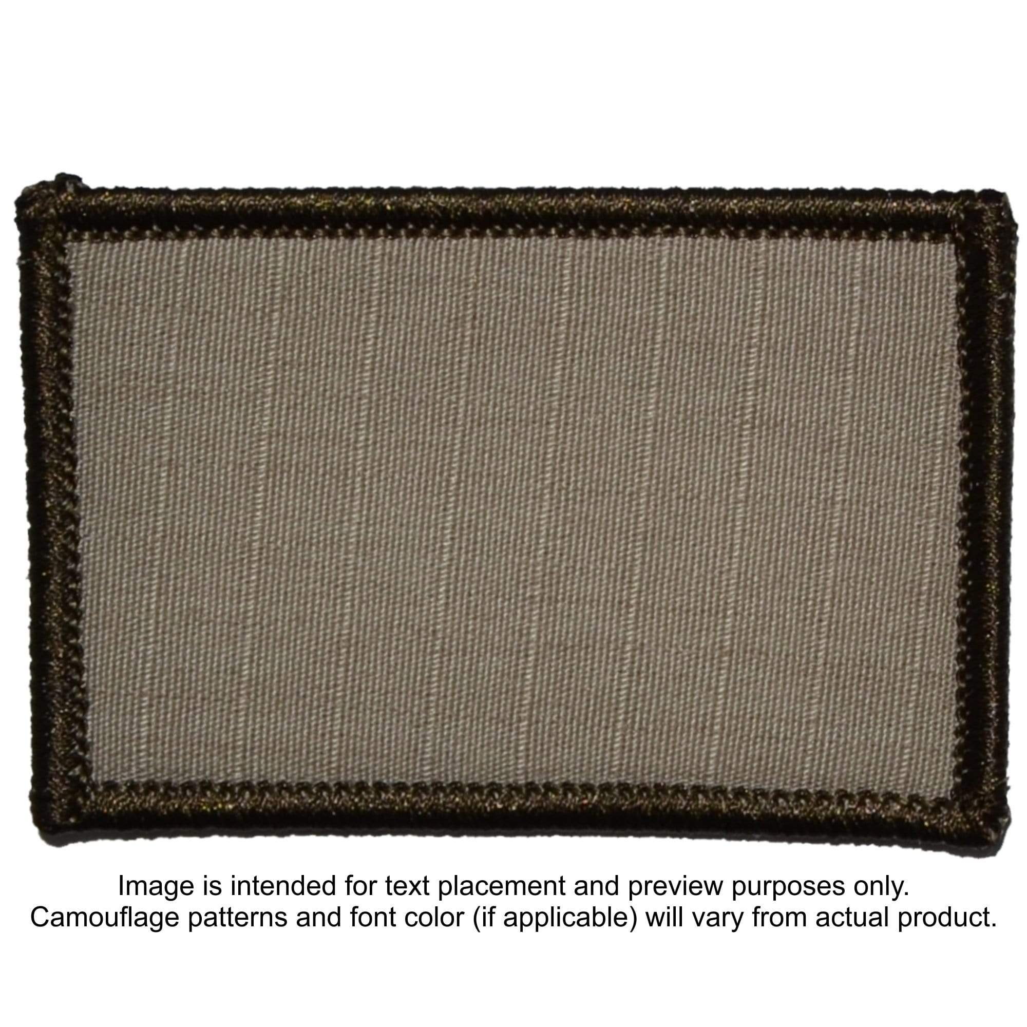 Custom Text Military 2x3 inch Patch  Your Text  | Tactical