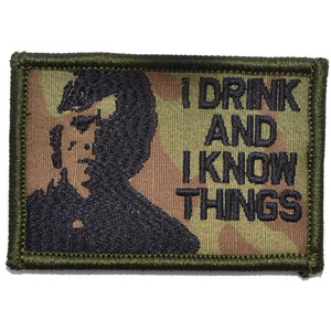 "Tyrion Lannister ""I Drink and I Know Things"" - 2x3 Patch"