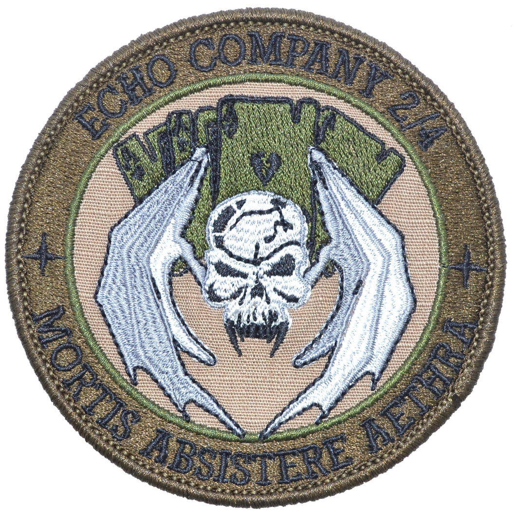 USMC Echo Co. 2/4 - 3.5 inch Round Patch