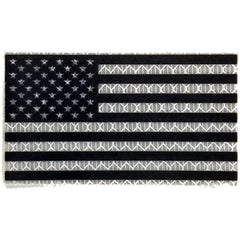 Reflective USA Flag - 2x3.5 Patch