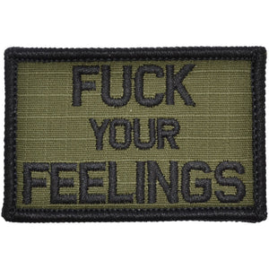 Fuck Your Feelings - 2x3 Patch
