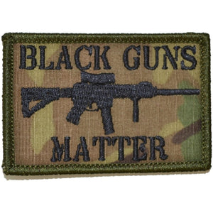 Black Guns Matter - 2x3 Patch