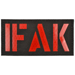 IFAK (Individual First Aid Kit) Laser Cut Reflective - 2x4 CORDURA® Patch