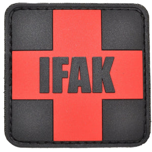 IFAK (Individual First Aid Kit) Red Cross - 2x2 PVC Patch