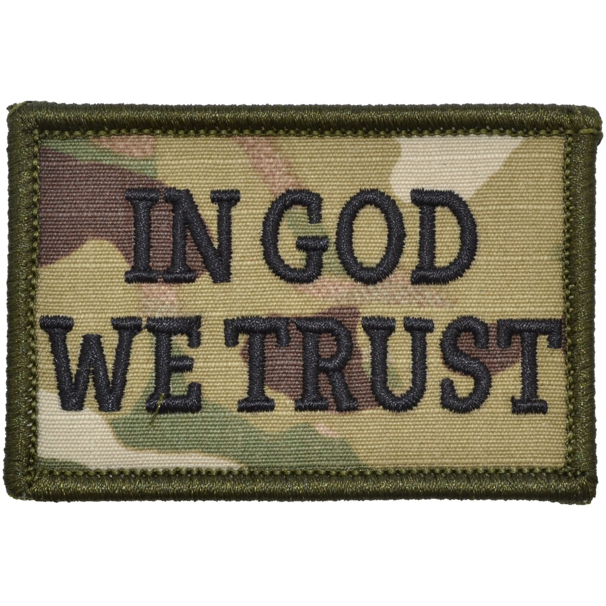 In God We Trust - 2x3 Patch