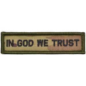 In God We Trust - 1x3.75 Patch