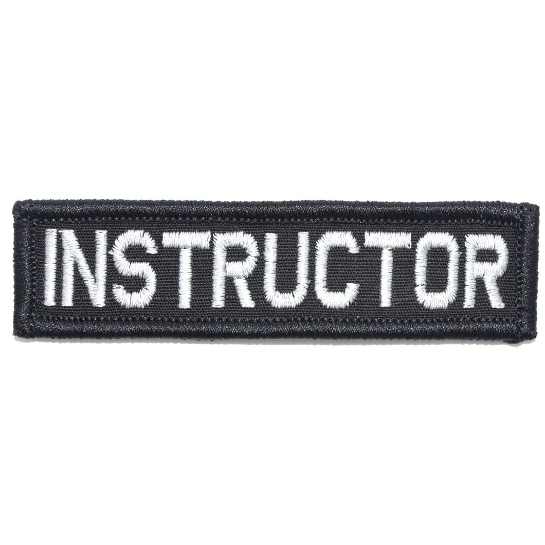 Instructor Nametape - 1x3.75 Patch