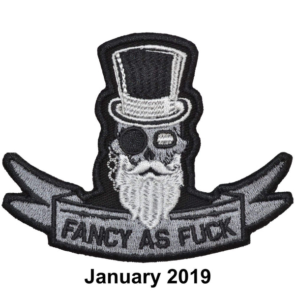 The Tactical Gear Junkie Patch of the Month - January - Fancy As Fuck