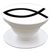 Jesus Fish Ichthys - Pop It - Smartphone Grip and Stand
