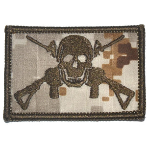 Jolly Roger Cross M4s - 2x3 Patch