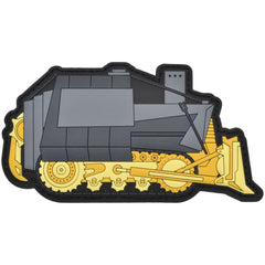 Killdozer - 2x4 PVC Patch - Multiple Colors