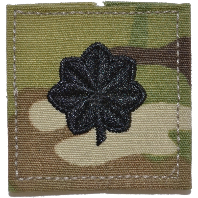 Tactical Gear Junkie Rank LTCOL Air Force Rank w/ Hook Fastener Backing - 3-Color OCP