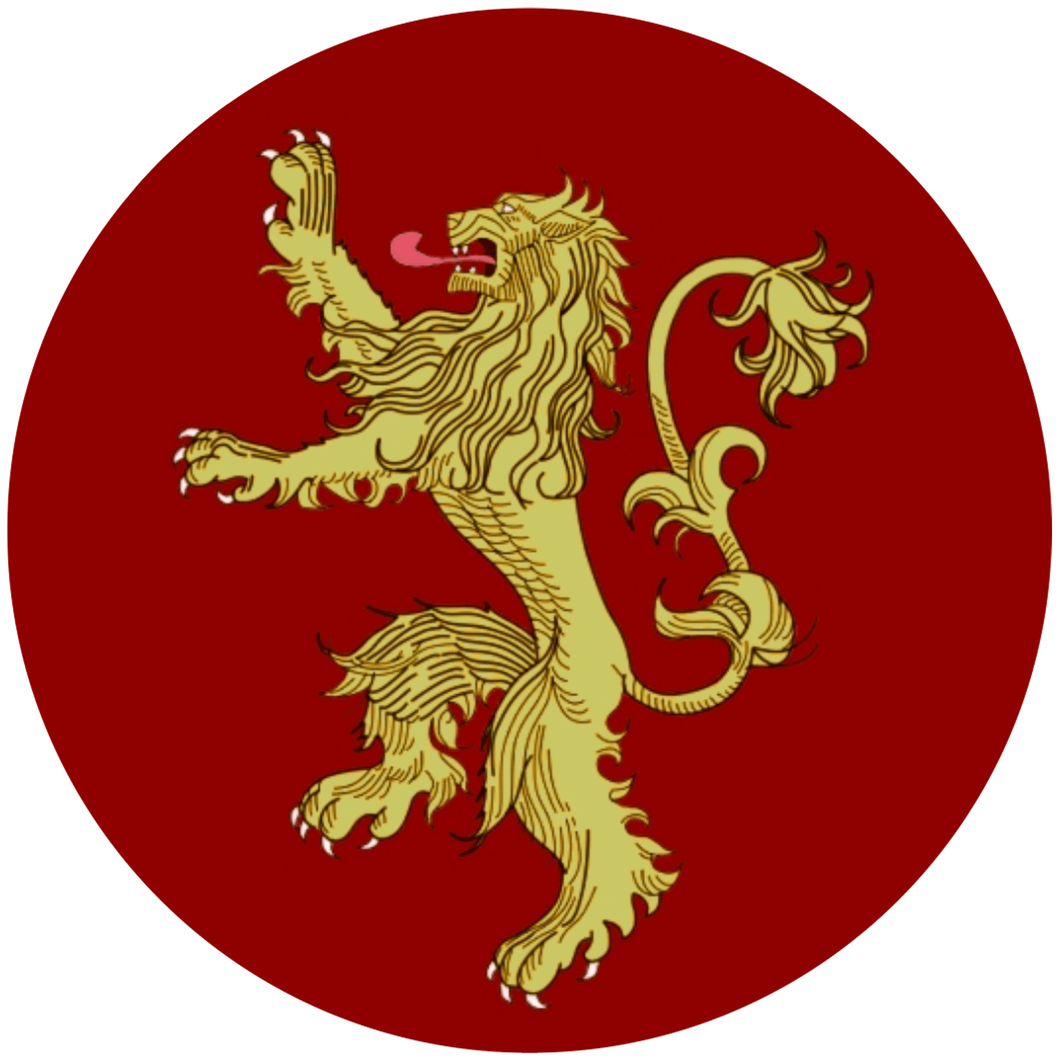 House Lannister Sigil - Game of Thrones - 3.5 inch Sticker