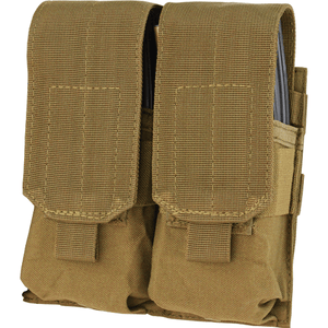 Condor Double M4 Hook & Loop Top Mag Pouch