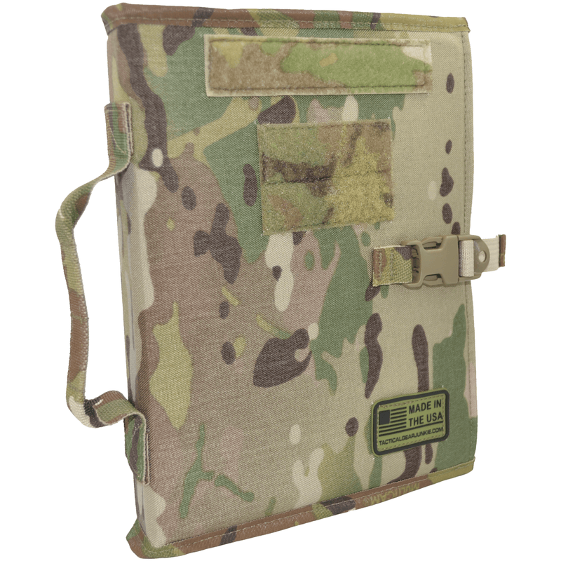Tactical Gear Junkie Accessories MultiCam Tactical Patch Book - American Made