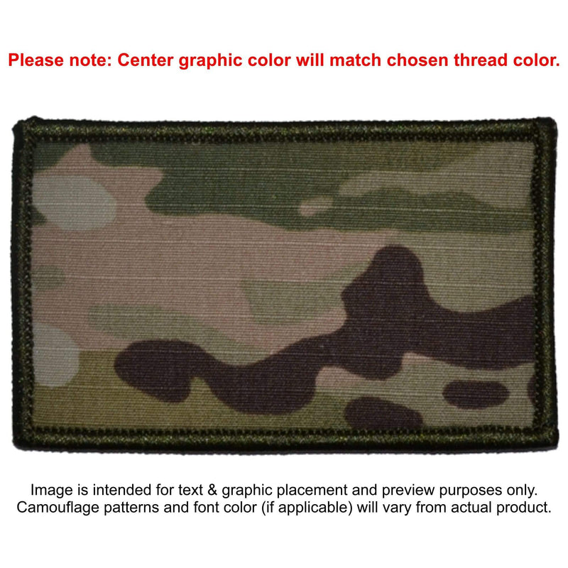 Tactical Gear Junkie Patches MultiCam Custom Made Combat Plate Carrier Flak Patch - Custom Image