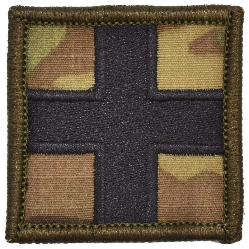 Tactical Gear Junkie Patches MultiCam Medic Cross - 2x2 Patch