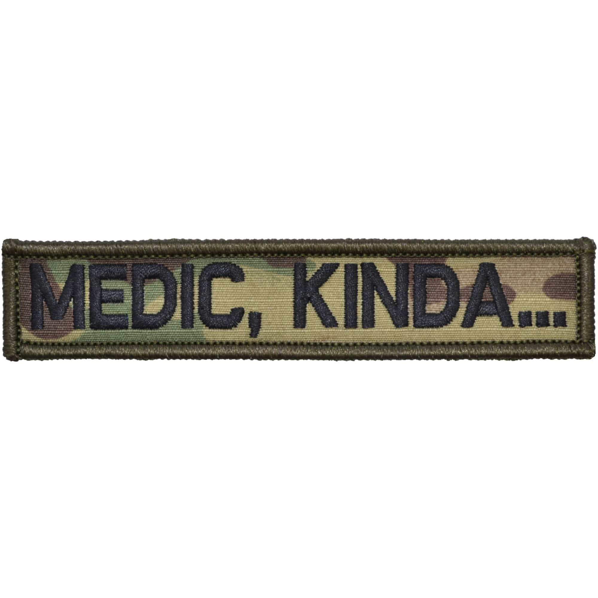 Tactical Gear Junkie Patches MultiCam Medic, Kinda... - 1x5 Patch
