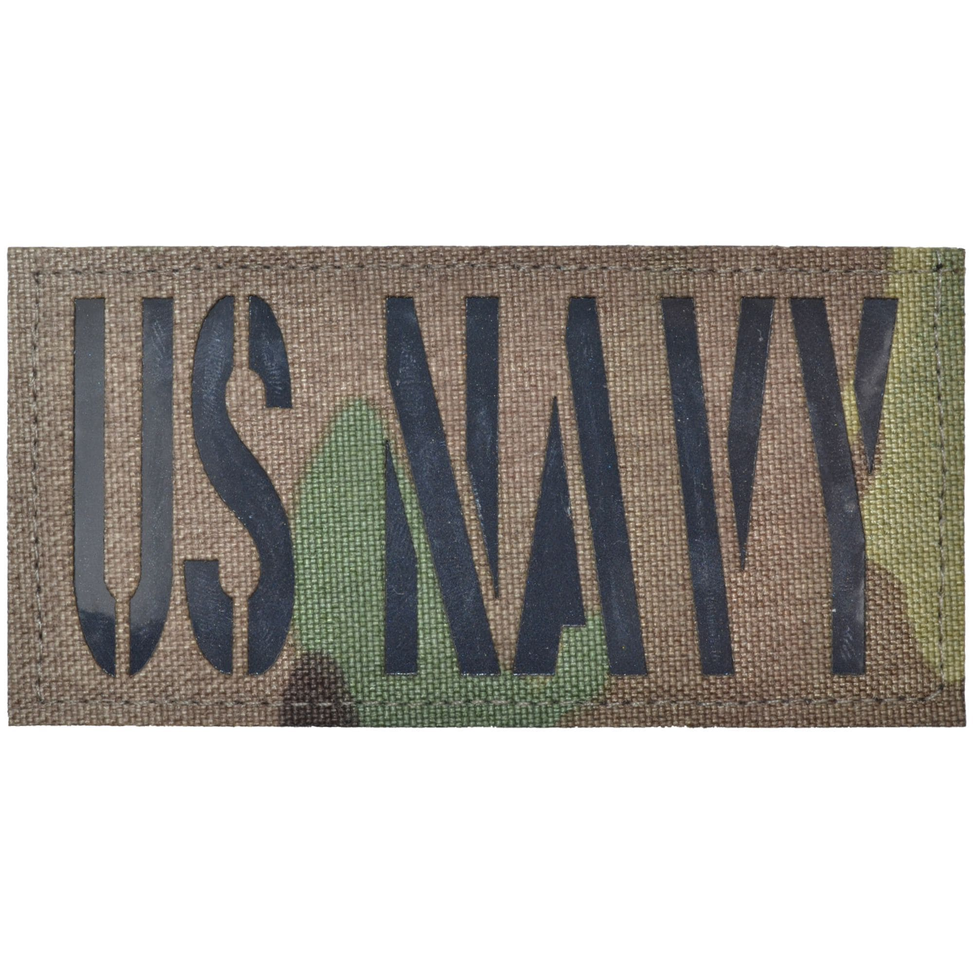 US Navy Laser Cut Reflective - 2x4 CORDURA® Patch