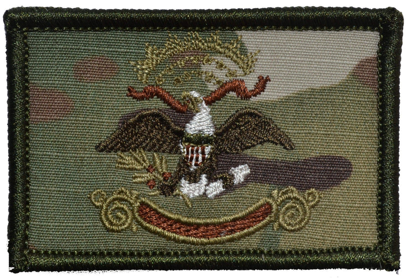 Tactical Gear Junkie Patches MultiCam North Dakota State Flag - 2x3 Patch