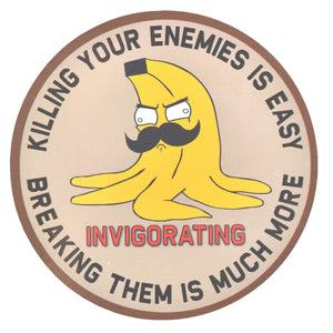 "Sketch's World © Nanner ""Killing Your Enemies"" - 3.5 Inch Sticker"