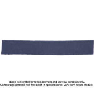 Nylon/Cotton Webbing Custom Name Tape - Navy