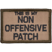 This Is My Non Offensive Patch - 2x3 Patch