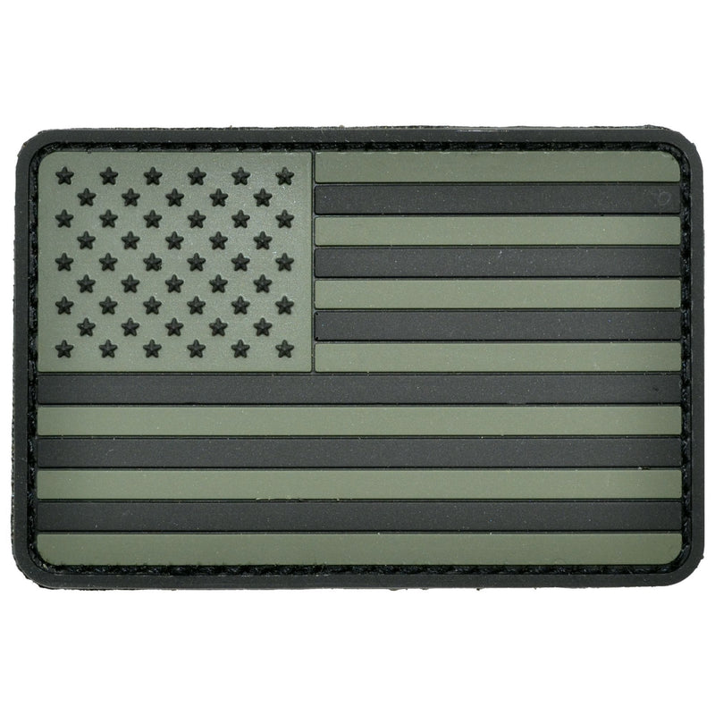 Tactical Gear Junkie Patches USA Flag Olive Drab - 2x3 PVC Patch - Rounded Corners