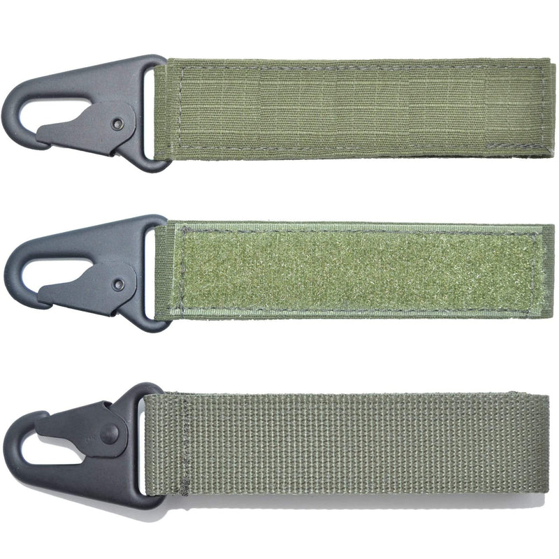 Tactical Gear Junkie Name Tapes Olive Drab Custom Name Tape Key Chain