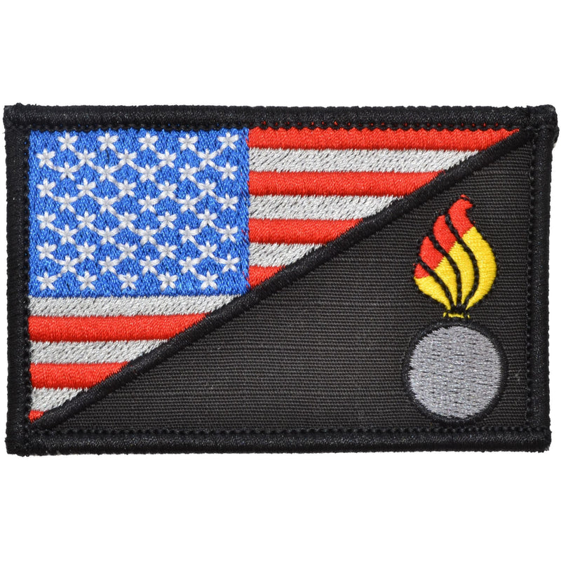 Tactical Gear Junkie Patches Full Color Army Ordnance Corps USA Flag - 2.25x3.5 Patch