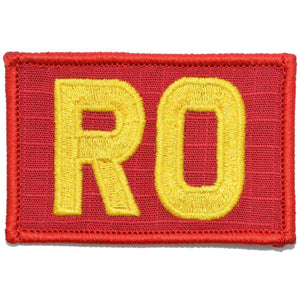 RO - Range Officer - 2x3 Patch
