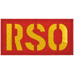 RSO (Range Safety Officer) Laser Cut Reflective - 2x4 CORDURA® Patch
