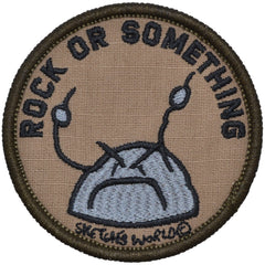 Sketch's World © Rock Or Something - 3 in Round Patch