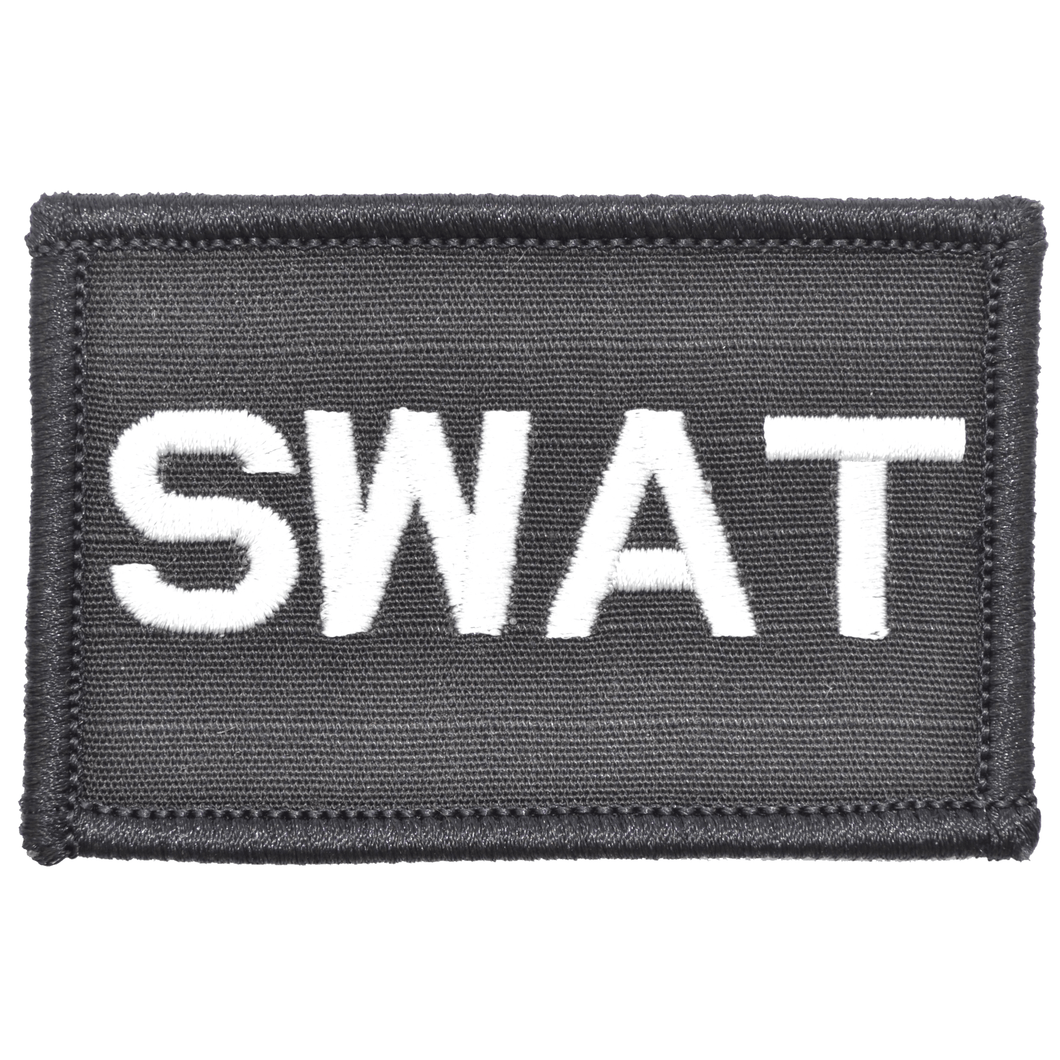 SWAT Text - 2x3 Patch