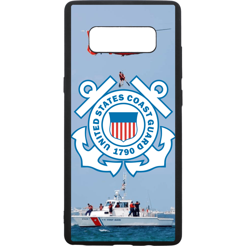 Tactical Gear Junkie Printed Accessories Samsung Galaxy Note 8 US Coast Guard Emblem - Smartphone Case - Choose Your Phone