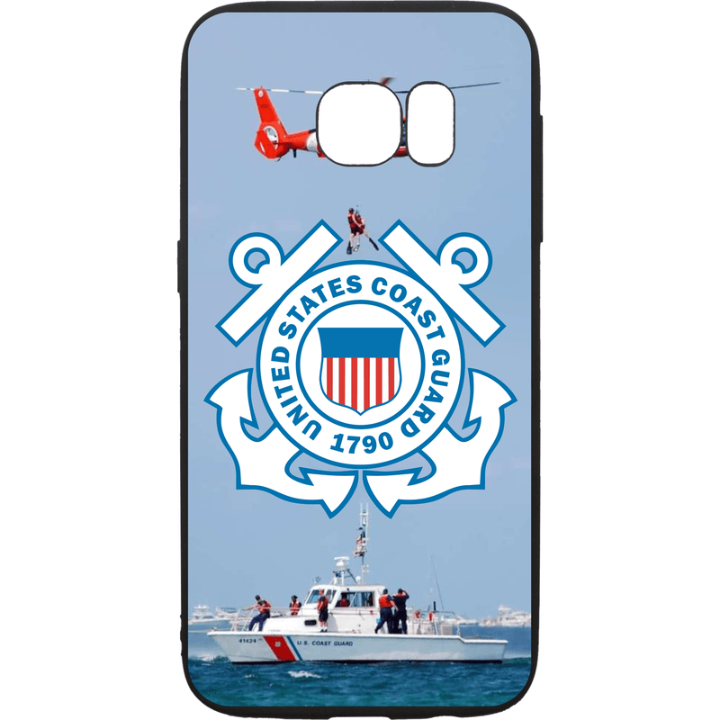 Tactical Gear Junkie Printed Accessories Samsung Galaxy S7 US Coast Guard Emblem - Smartphone Case - Choose Your Phone