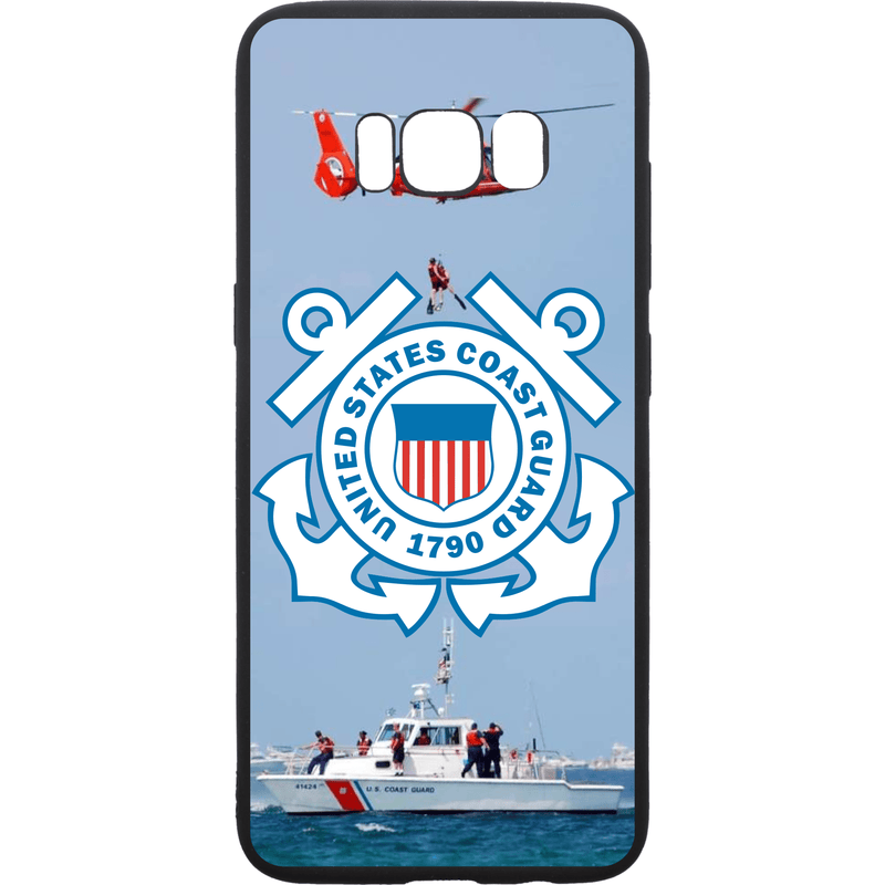Tactical Gear Junkie Printed Accessories Samsung Galaxy S8 US Coast Guard Emblem - Smartphone Case - Choose Your Phone