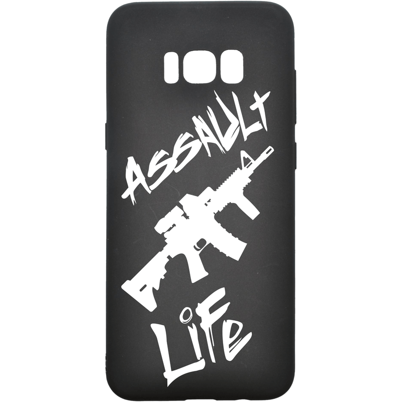 Tactical Gear Junkie Printed Accessories Samsung Galaxy S8+ Assault Life - Smartphone Case - Choose Your Phone