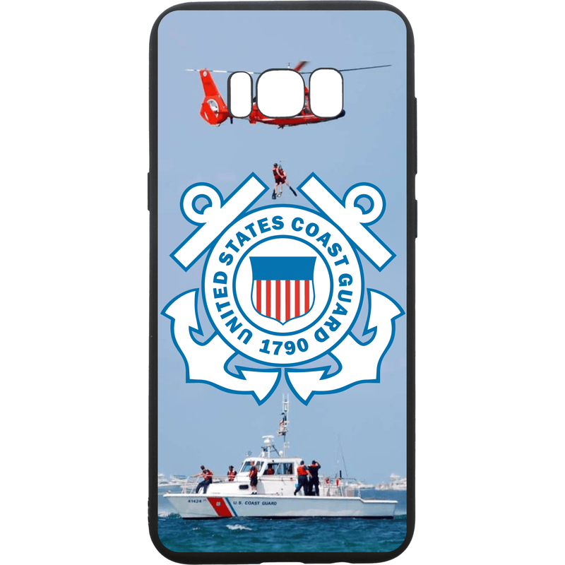Tactical Gear Junkie Printed Accessories Samsung Galaxy S8+ US Coast Guard Emblem - Smartphone Case - Choose Your Phone
