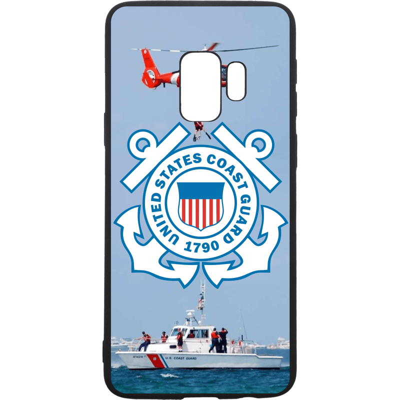 Tactical Gear Junkie Printed Accessories Samsung Galaxy S9 US Coast Guard Emblem - Smartphone Case - Choose Your Phone