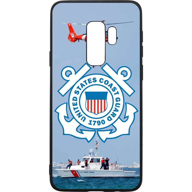 Tactical Gear Junkie Printed Accessories Samsung Galaxy S9+ US Coast Guard Emblem - Smartphone Case - Choose Your Phone