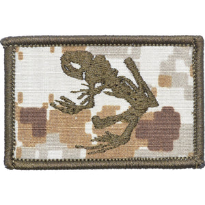Navy Seal Frog - 2x3 Patch