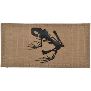 Navy Seal Frog Laser Cut IR/Reflective/Non-reflective/Glow-In-Dark Graphic - 2x4 Patch