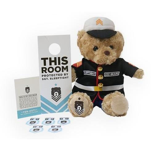 ZZZBears Accessories ZZZBears Sgt. Sleeptight with Marine Dress Blue Uniform